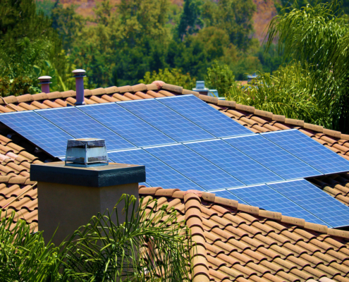 install a home solar energy system